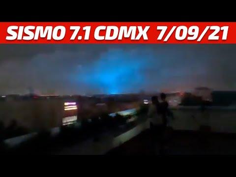 Video: Imágenes del sismo de 7.1 grados sacudió a la ciudad de México