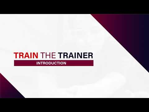 Train the Trainer Certification Preview - YouTube