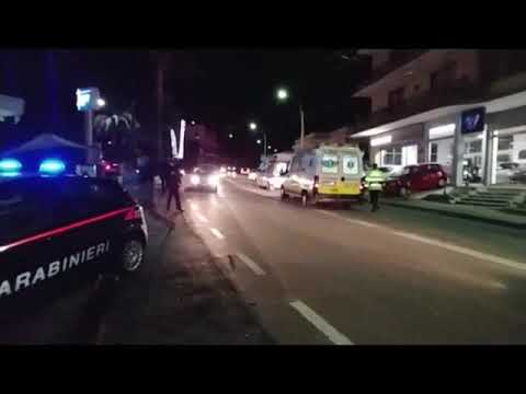 DUE FERITI IN UN INCIDENTE STRADALE A BORDIGHERA