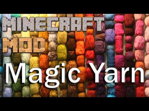 Minecraft Mods 1.8 : AtomicStryker's Magic Yarn - ITA