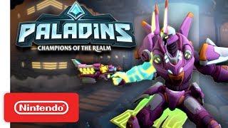Paladins - Battle Suit Battle Pass Trailer - Nintendo Switch