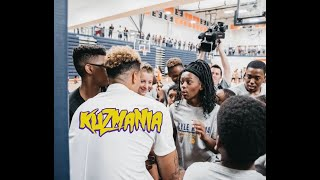 Kyle Kuzma | FaceTime w/ Lonzo Ball at Camp!