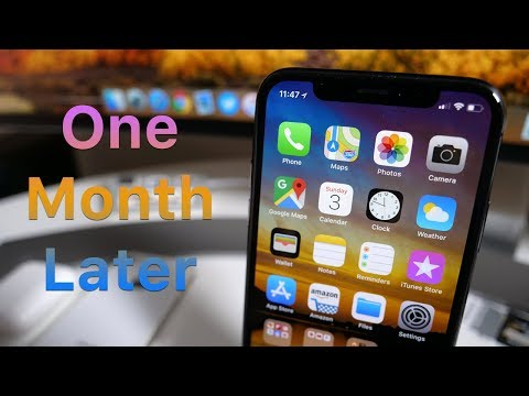 iPhone X - One Month Later