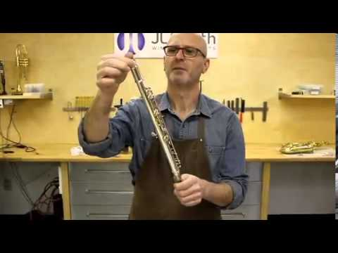 Aligning the Flute Body