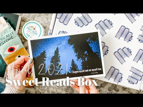 Sweet Reads Box Unboxing April 2021