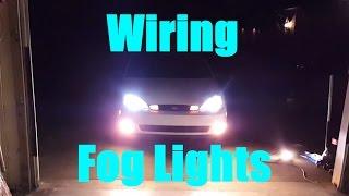 Installing Fog Lights on a Ford Focus