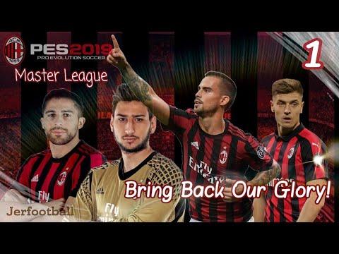 PES 2019 AC Milan Master League: Perkenalan Squad Dan Rekrutan Anyar #1