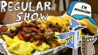 The EGGSCELLENT CHALLENGE from Regular Show!