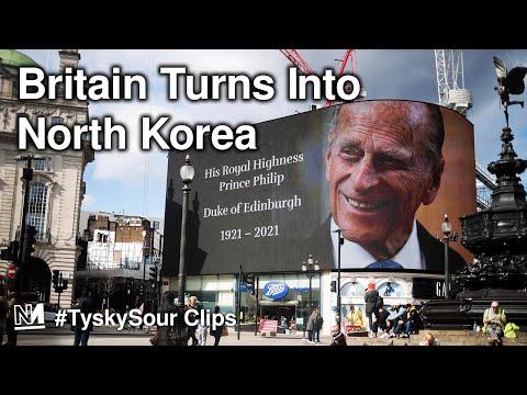 Prince Philip's Death Turns Britain Into North Korea