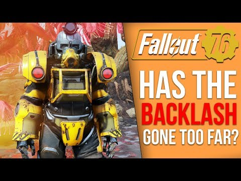 Obsidian is Upset Over the Fallout 76 Bashing and a New Fallout 76 Item Deletion Glitch Has Emerged