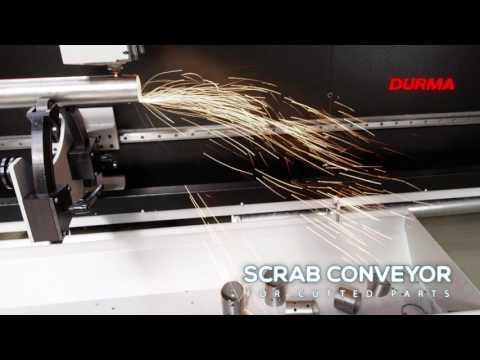 Fiber laser Durma - řezání trubek