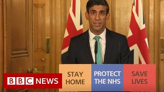 "Self-employed workers will be able to apply for a grant of up to £2,500 a month to help them cope with the financial impact of coronavirus, the chancellor has announced.  The money will be paid in a single lump sum, but will not begin to arrive until the start of June at the earliest.  Rishi Sunak told the self-employed: ""You have not been forgotten.""  Plans for 80% wage subsidies for staff kept on by employers were announced last week.  The chancellor spoke after the total number of people in the UK to die with Covid-19, the disease caused by coronavirus, reached 475.  Please subscribe HERE http://bit.ly/1rbfUog"