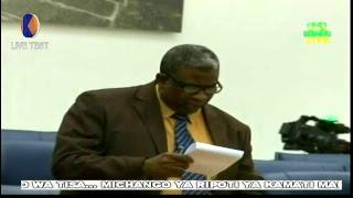 LIVE TEST: BARAZA LA WAWAKILISHI ZANZIBAR