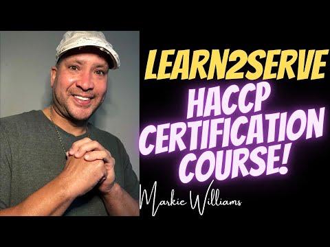 Learn2Serve HACCP Certification - YouTube
