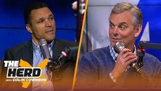 Tony Gonzalez looks ahead to Colts vs Chiefs, talks Dak's future in Dallas | NFL | THE HERD