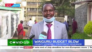 Waiguru budget blow: Blow to Waiguru as MCA's reject the budget memorandum