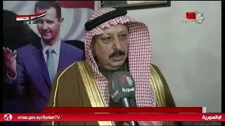 الحسكة - اجتماع العشائر والقبائل تنديداً بالتهديدات التركية 21.12.2018