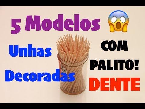 5 modelos com Palito