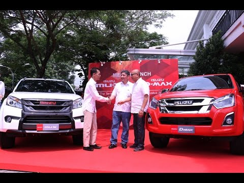 The launch of Isuzu MU-X and D-MAX | Oto.com