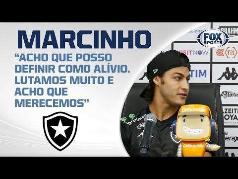 BOTAFOGO AO VIVO! Após se livrar da Série B, Yuri e Marcinho falam de duelo com Galo no Brasileirão