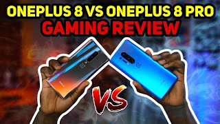 OnePlus 8 vs OnePlus 8 Pro - Gaming Review!