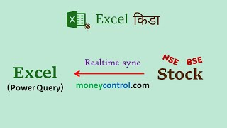 Realtime linking of Share price to Excel via Power Query