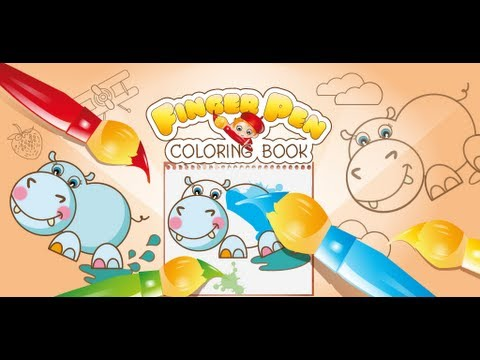 Video of FingerPen 400+ coloring books