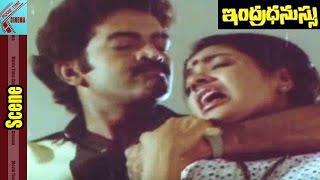 Rajashekar Kill To Jeevitha Scene || Indradhanussu Movie || Rajashekar, Jeevitha || MovieTimeCinema