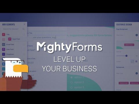 MightyForms – Best Online Form Builder Platform