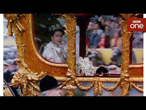 How comfortable is the queen's carriage? – The Coronation – BBC One