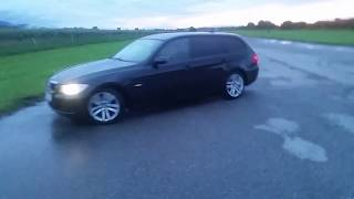 BMW 320d E91 first drift fail