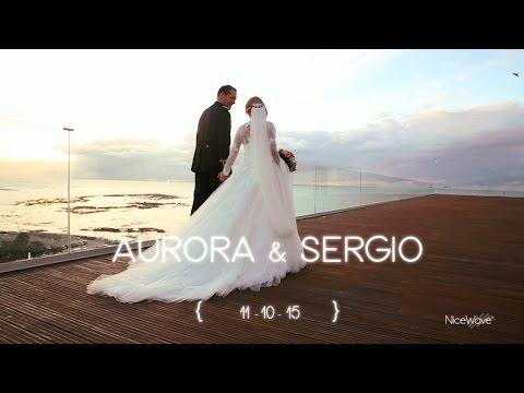 Trailer Boda Aurora y Sergio