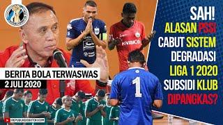 Sah! Alasan PSSI Cabut Sistem Degradasi Liga 1 2020, Subsidi Klub Dipangkas?