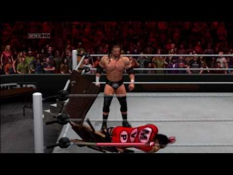 comment monter sur la cage dans smackdown vs raw 2011