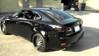 DUBSandTIRES.com Lexus IS250 IS350 Review 19 inch konig lace rims supercharged HID's