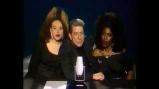 "Video thumbnail of ""Leonard Cohen - First We Take Manhattan (complete, German TV, February 17, 1988)"""