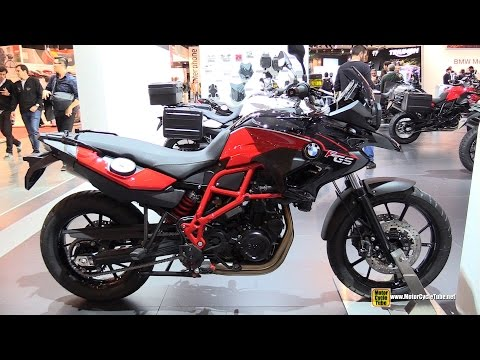 2015 BMW F700 GS - Walkaround - 2014 EICMA Milan Motorcycle Exhibition