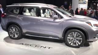 Концепт нового 7-местного внедорожника Subaru Ascent