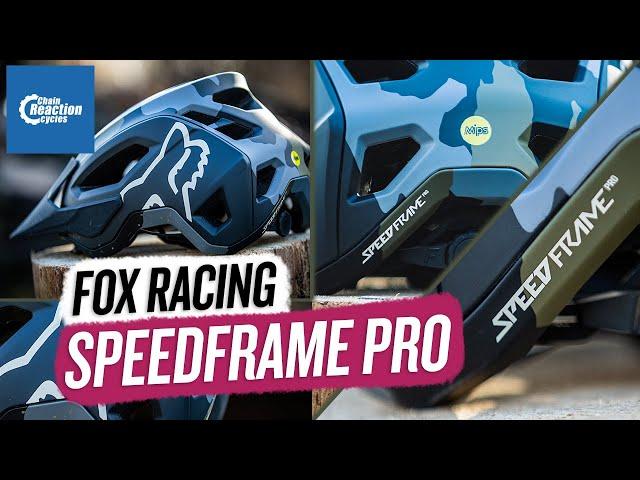 Видео Шлем Fox Speedframe Pro (Green Camo)
