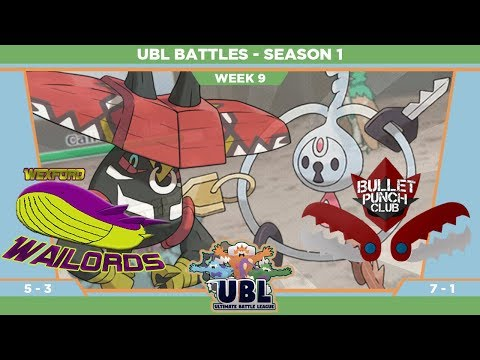 Wexford Wailords UBL Battle S1W9 VS: Bullet Punch Club
