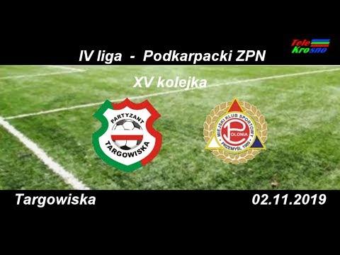 WIDEO: Partyzant Targowiska - Polonia Przemyśl 1-1 [SKRÓT MECZU]