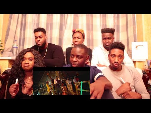 Stonebwoy ft. Medikal, DarkoVibes, Kelvyn Boy & Kwesi Arthur - Kpo K3K3 ( REACTION VIDEO )