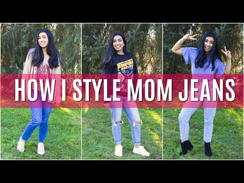 How I Style Mom Jeans | American Eagle and PacSun