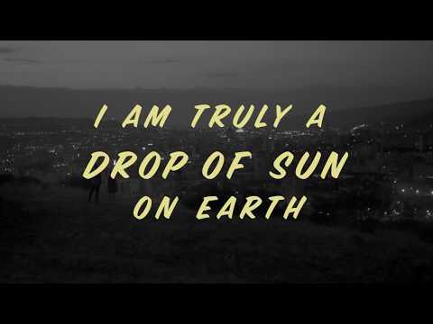 Drop of sun (I am truly a drop of sun on earth) Vendredi Distribution