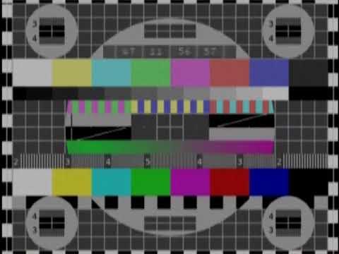 (ПЕРЕЗАЛИВ) Окончание эфира ЦТ СССР середина 80-ых на основе оригинала НЗВТ. Реконструкция.