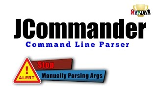JCommander: Parsing Java Command Line Arguments