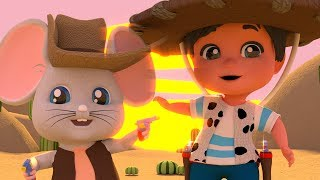 El Raton Vaquero | Canciones Infantiles | Animaciones De Niños | Nursery Rhymes | Kids Songs