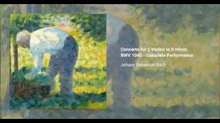 Concerto for 2 Violins in D minor, BWV 1043