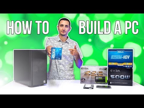 How To Build A Gaming PC with Windows Install (2018) - $450 PC Build (видео)