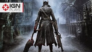 Bloodborne's Intense Rooftop Hunter Fight   IGN Plays Live